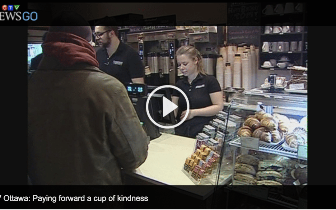A hot cup of kindness for dozens in downtown Ottawa